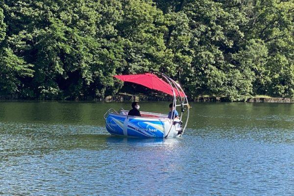 一碧湖 アイランドボート