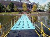 組立式浮桟橋のピアフロート